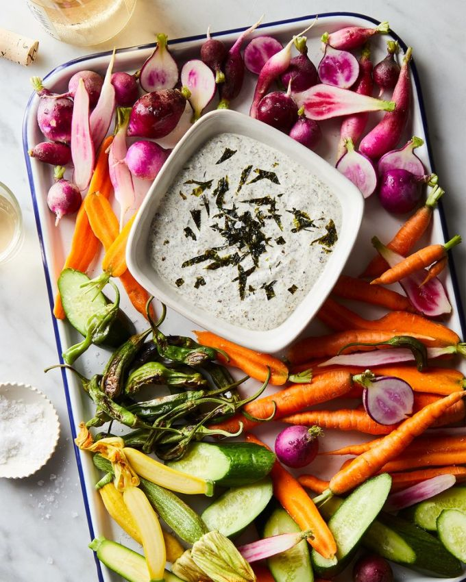 This is how I crudités.