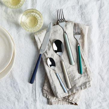 italian flatware fantasia color flatware set
