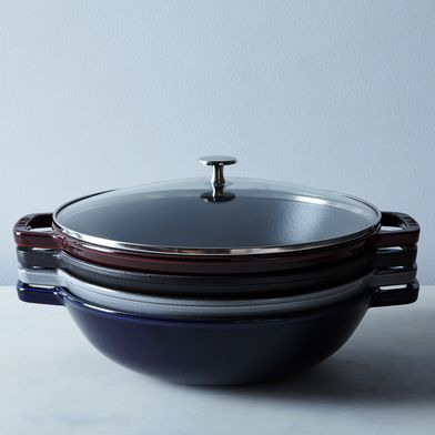 Staub Perfect Pan with Glass Lid, 4.5QT