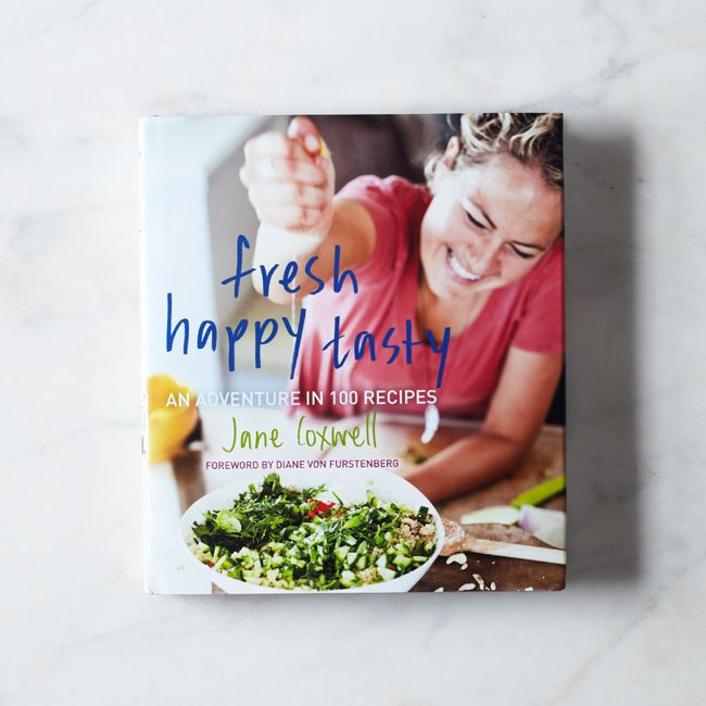 Fresh Happy Tasty Cookbook, Signed