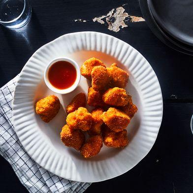Pickle-Brined Chicken Nuggets