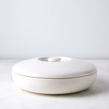 ceramic steamer bowl with lid