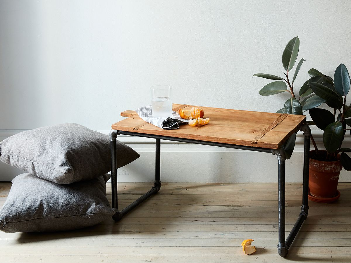an easy pipe side table they ll never