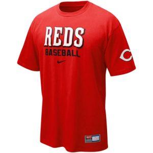 Nike Cincinnati Reds Red MLB Practice T-shirt