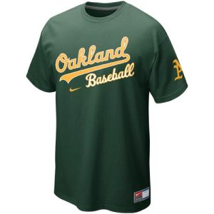 Nike Oakland Athletics Away Premium Practice T-Shirt - Green
