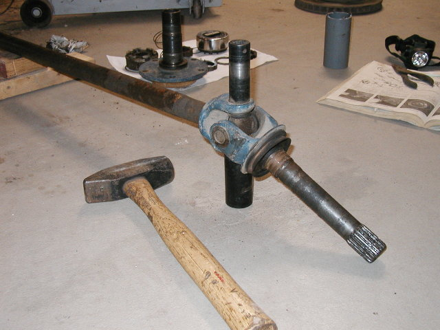 dana 44 front axle shaft u-joint replacement - ford-trucks.com