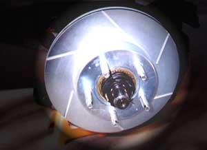 ART rotor installed