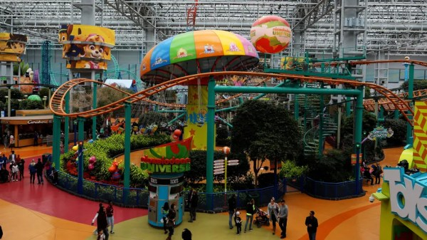 Nickelodeon Universe, North America
