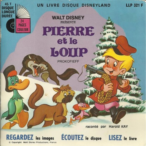 walt disney présente Pierre et le loup (prokofieff) (livre disque ...
