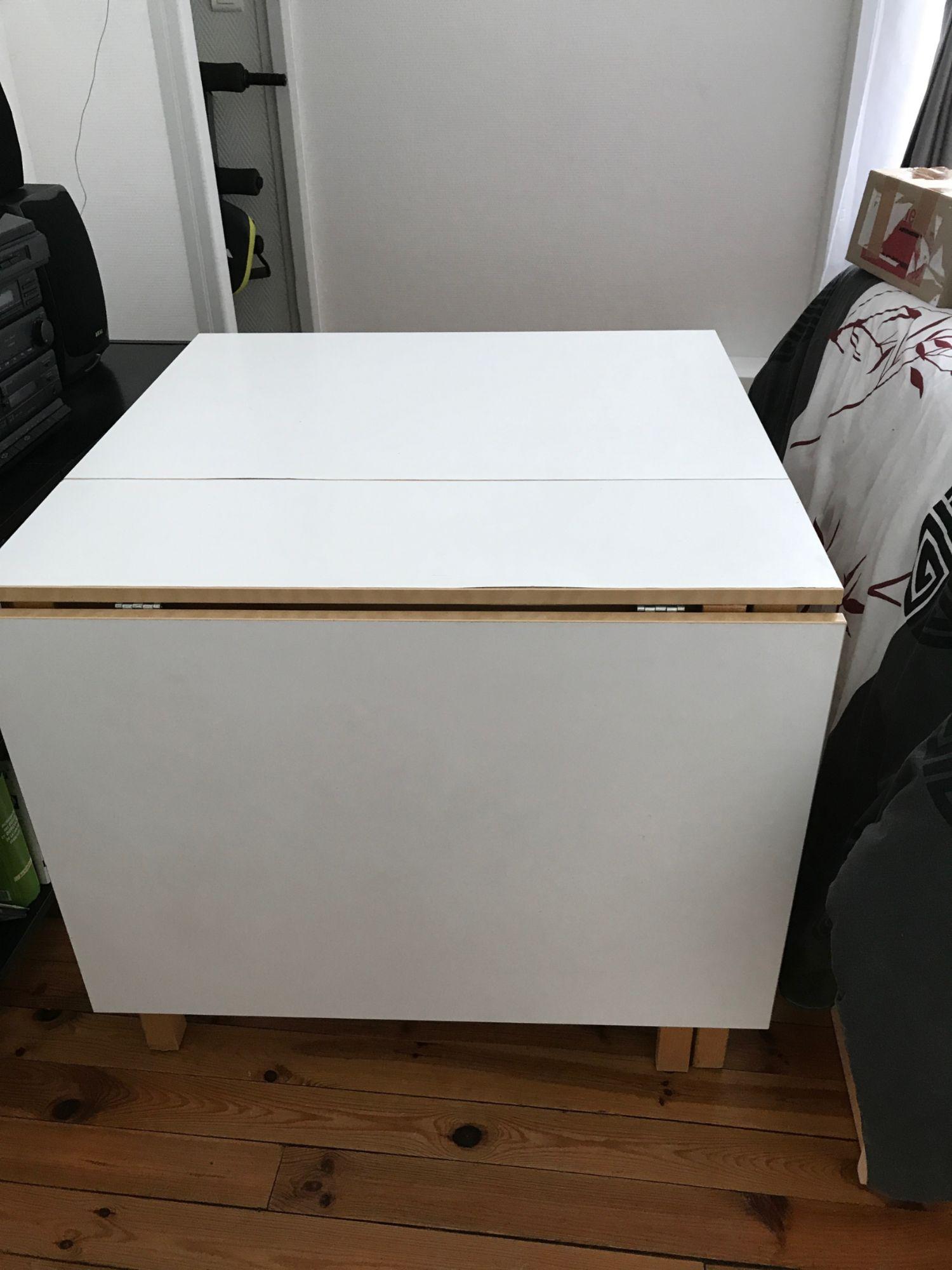 table de cuisine pliable ikea