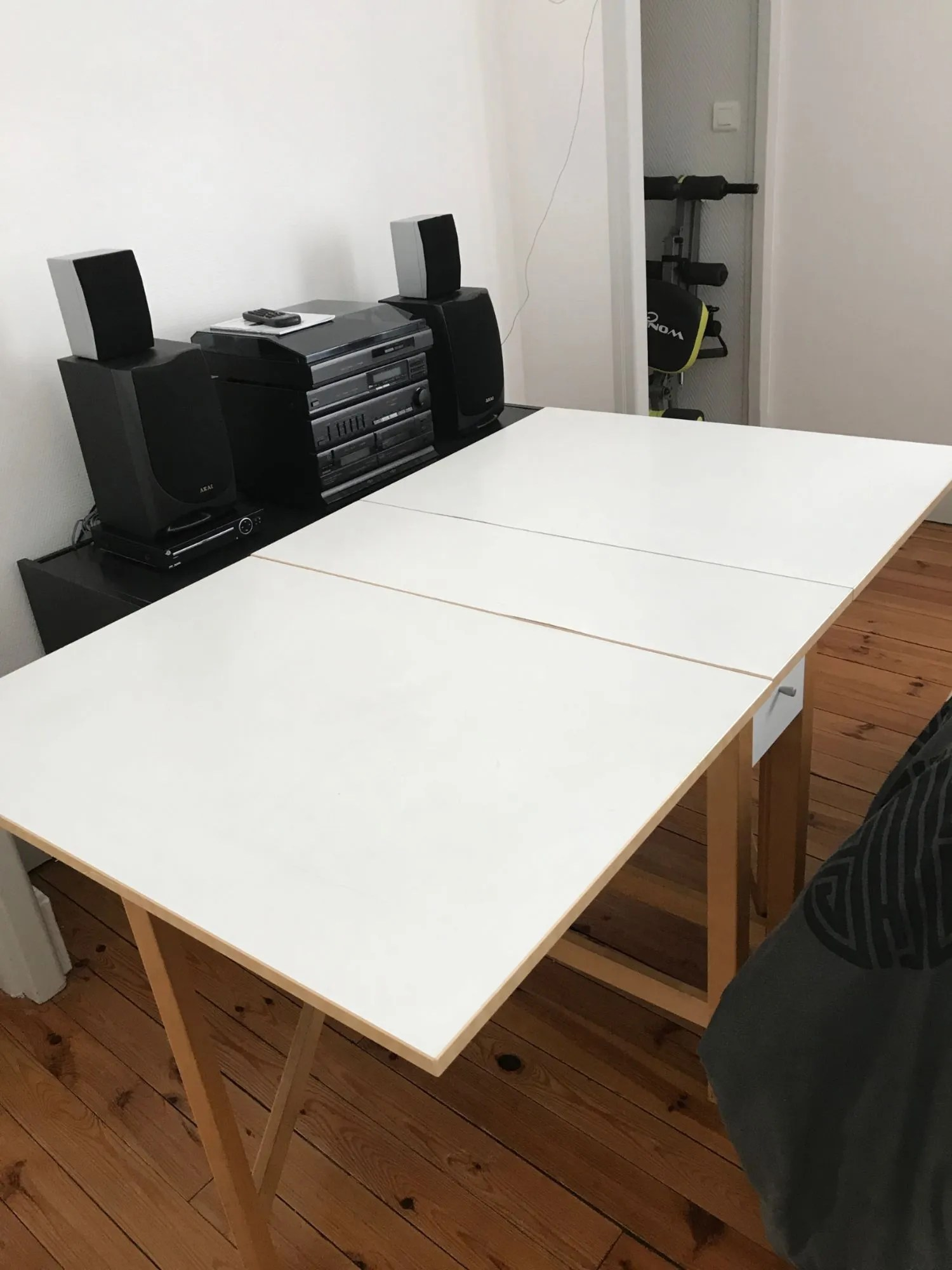 table de cuisine pliable ikea