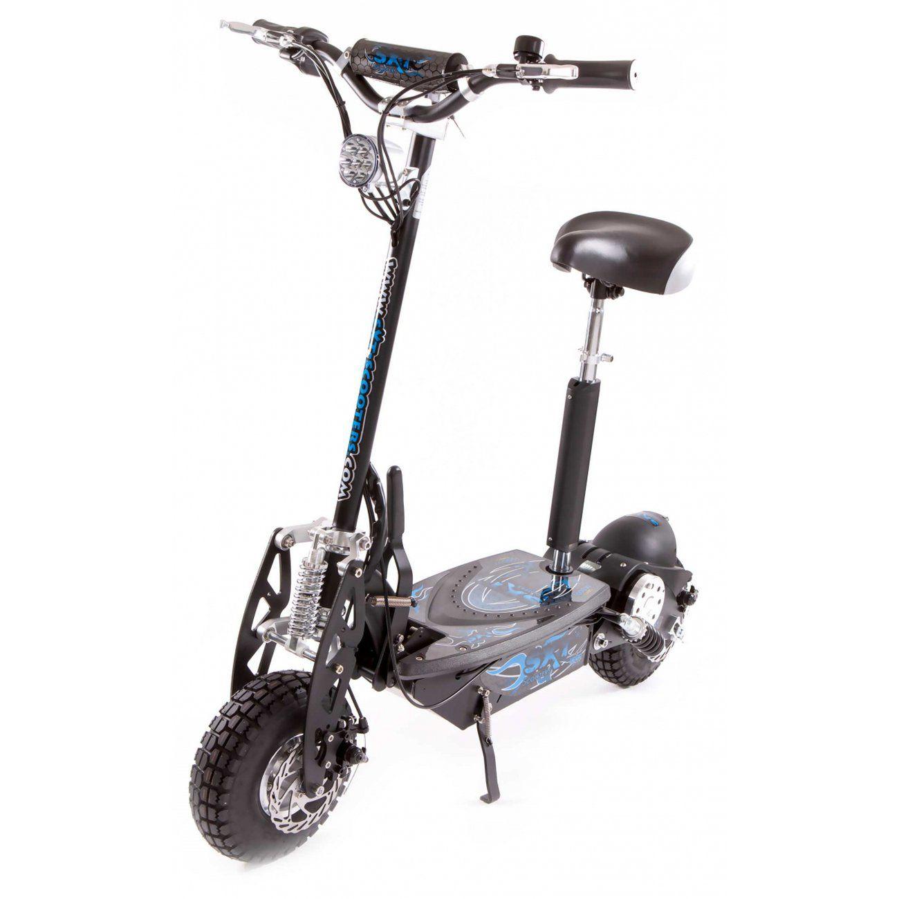 glisse urbaine sxt scooters trottinette electrique sxt scooters 1000 w turbo noire batterie plomb 12 ah
