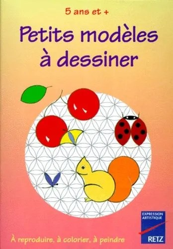 Petits Modeles A Dessiner A Reproduire A Colorier A Peindre Rakuten