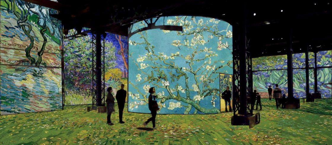 HEADER Simulation Van Gogh, La nuit étoilée © Culturespaces Gianfranco Iannuzzi - opt