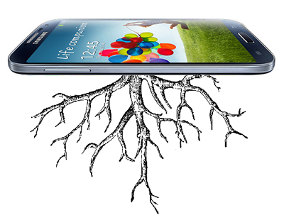 android samsund galaxy s4 rooted root