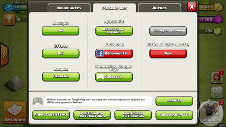Clash of ClansClash of Clans Android 1
