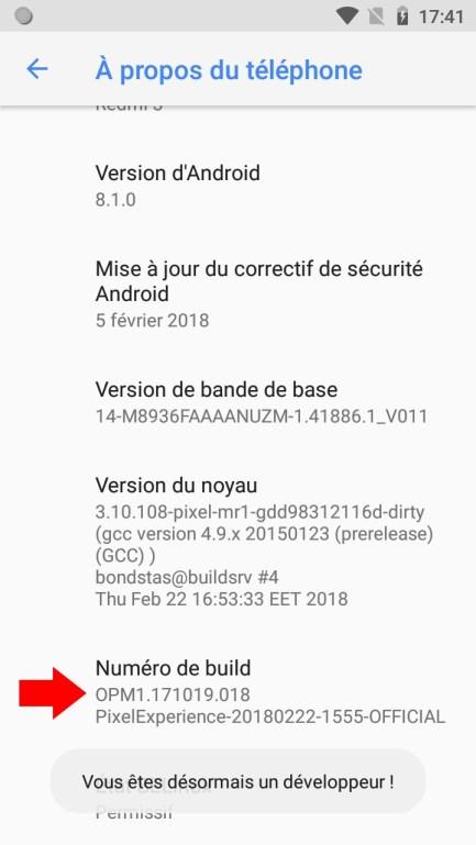 Android 81 Options de développeurs développement tuto