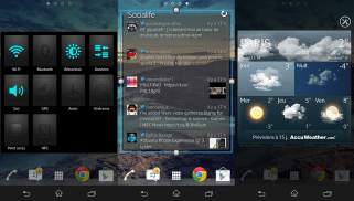 Test-Sony-Xperia-Z-Widgets