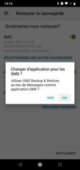 SMS Backup restaurer messages (3)