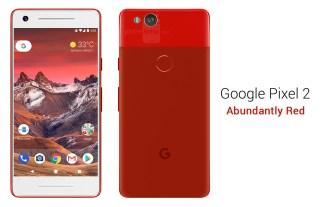 google-pixel-2-abundantly-red