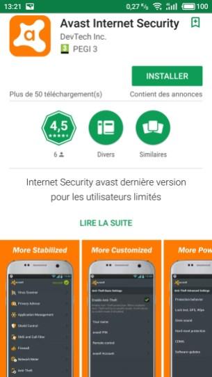 google-play-devtech-inc-fausse-app-avast-screen-1