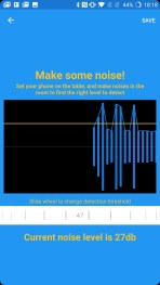 Vous réglez le seuil d'alerte sonore
