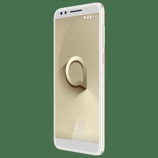 Alcatel 3X_Metallic Gold_Front Right