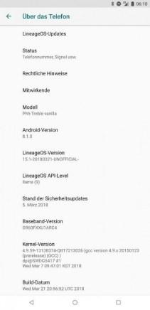 Samsung Galaxy S9 LineageOS 151