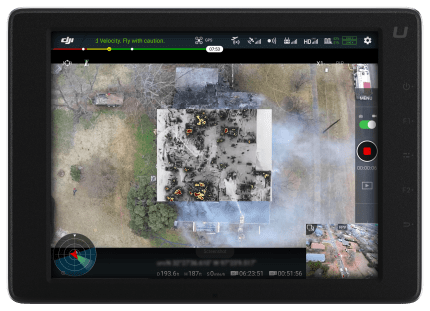 Structure Fire UI screengrab