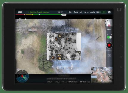 Structure Fire UI screengrab