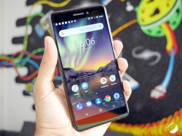 Nokia 6 2018 face