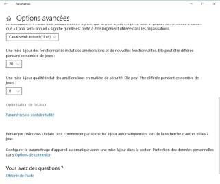 Windows Update paramètre de livraison (4)