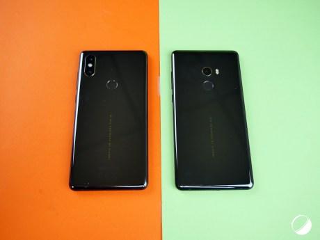 Xiaomi Mi Mix 2S vs Mix 2 dos