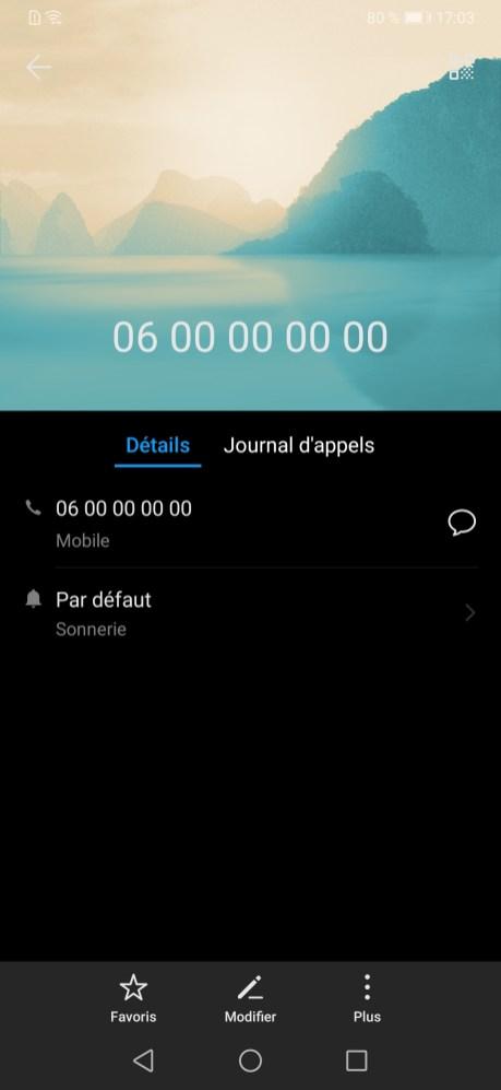 Bloquer Contact Huawei EMUI (2)