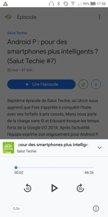 Google Podcasts Android (1)