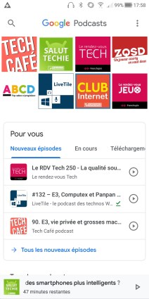 Google Podcasts Android (5)