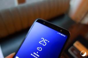 Samsung Galaxy A6 Plus haut