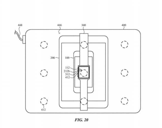 Brevet Apple Recharge sans fil multi appareil (1)