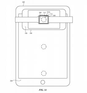 Brevet Apple Recharge sans fil multi appareil (3)