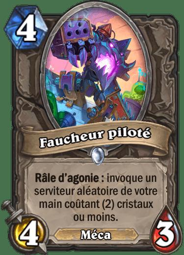 faucheur-pilote