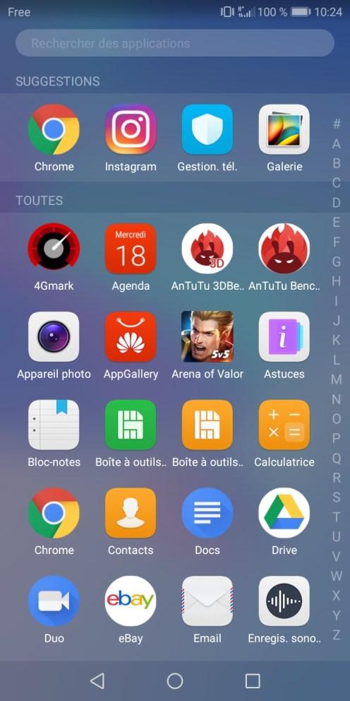 Huawei Y6 screen 11