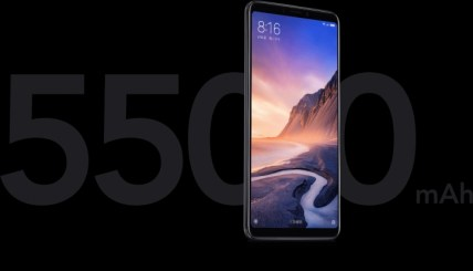 Xiaomi Mi MAx 3 batterie