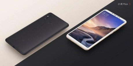 Xiaomi Mi Max 3 dua