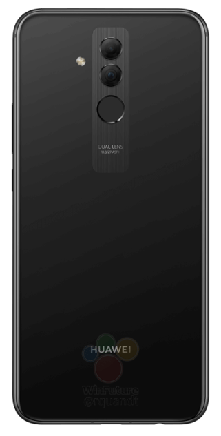 Huawei-Mate-20-Lite noir dos
