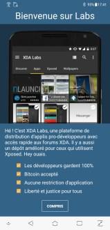 XDA Labs screenshots (2)