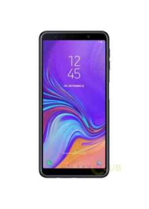 Samsung Galaxy A7 2018 rendu