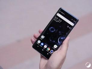 Sony Xperia XZ3 face