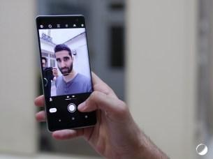 Sony Xperia XZ3 selfie