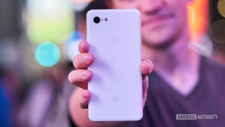 Android Authority Pixel 3 XL prise en main (1)
