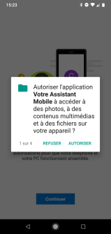Android Microsoft votre assistant mobile windows 10 tuto (5)